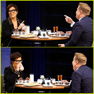 Kris Jenner Sparks Engagement Rumors By Choosing to Eat a Cricket Over Answering Question About Corey Gamble!
