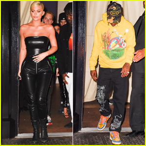 Kylie Jenner & Travis Scott Attend the MTV VMAs 2018 After Party in NYC!
