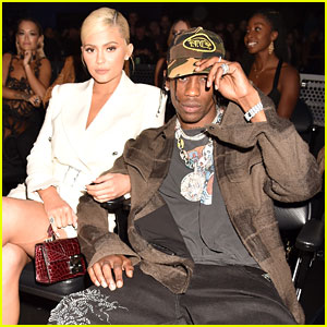 Kylie Jenner & Travis Scott Have Parents' Night Out at MTV VMAs 2018!