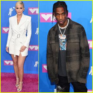 Kylie Jenner & Travis Scott Walk The Carpet Separately at MTV VMAs 2018
