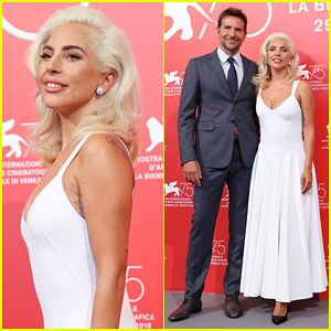 Lady Gaga & Bradley Cooper Walk Hand In Hand at 'A Star Is Born' Venice Film Festival Photo Call!