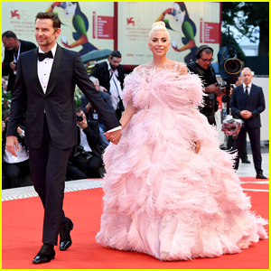 3ba81487e70 Lady Gaga Stuns at  A Star Is Born  Venice Film Festival Premiere with  Bradley Cooper!