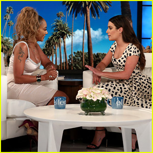 Mel B Clarifies Reports About Her Rehab Stay During 'Ellen' Interview with Lea Michele