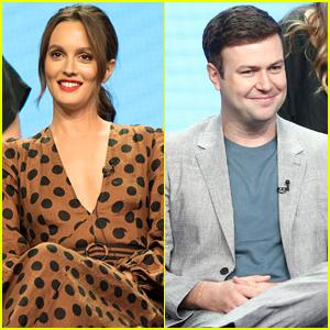 Leighton Meester & Taran Killam Promote 'Single Parents' at Summer TCAs 2018!