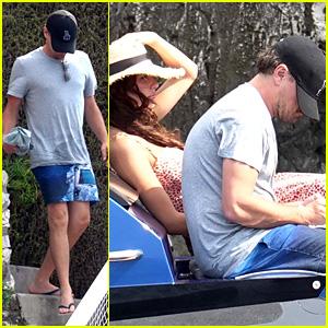 Leonardo DiCaprio & Girlfriend Camila Morrone Continue Their Trip to Italy!