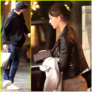Leonardo DiCaprio & Girlfriend Camila Morrone End Their Weekend with a Low-Key Dinner