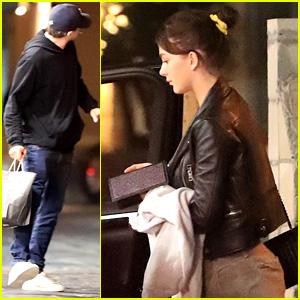 Leonardo DiCaprio & Girlfriend Camila Morrone End Their Weekend with a Low-Key Dinner