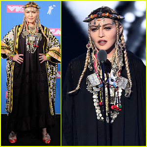 Madonna Pays Tribute to Aretha Franklin at VMAs 2018 by Telling Her Audition Story