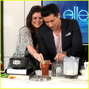 Mario Lopez Has a 'Saved By the Bell' Reunion With Tiffani Thiessen on 'Ellen' - Watch Now!