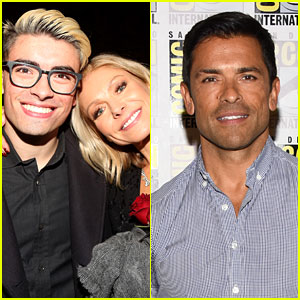 Mark Consuelos & Kelly Ripa Celebrate Son Michael's 'Riverdale' Casting