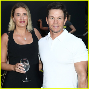 Mark Wahlberg & Rhea Durham Couple Up at Rolls Royce X Technogym Party!