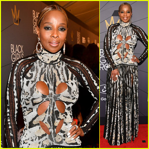 Mary J Blige Gets Honored at Black Girls Rock 2018!