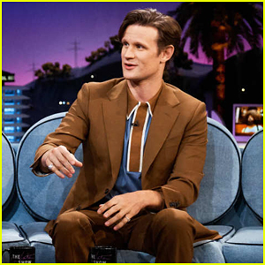 Matt Smith Reacts To 'Doctor Who' Fan Tattoos Of His Face on 'Late Late Show'!