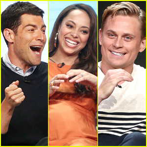 Max Greenfield, Amber Stevens, & Billy Magnussen Promote Their New Shows at Summer TCAs 2018!