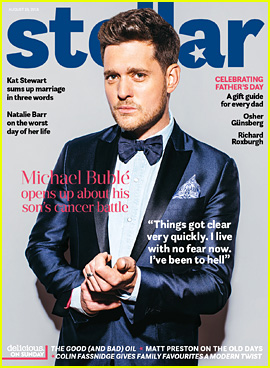 Michael Buble & His Wife 'Fell in Love Again' After Son Noah's Prognosis Began to Improve