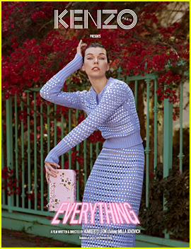Milla Jovovich is 'Everything' in New Kenzo Campaign