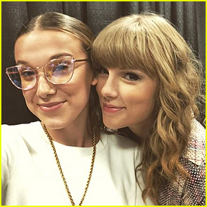 Millie Bobby Brown Hangs Out Backstage at Taylor Swift Concert!