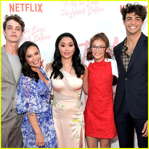 Netflix's 'To All the Boys I've Loved Before' Cast Attends Premiere!