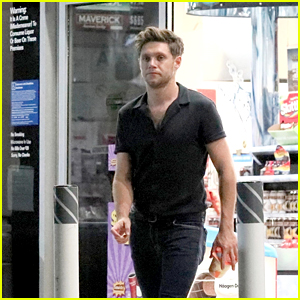 Niall Horan Makes a Gas Station Stop Before Heading to a Party in West Hollywood!