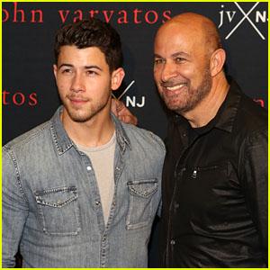 Nick Jonas Celebrates Launch of JVxNJ Fragrance With John Varvatos!