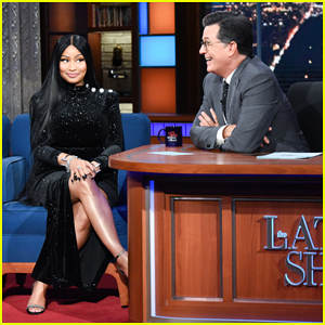 Nicki Minaj Gets Stephen Colbert Flustered By Adding R-Rated Lyric To 'Barbie Dreams' - Watch Here!