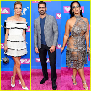 Nicky Hilton, Nyle DiMarco, & Dascha Polanco Show Off Their Red Carpet Styles at MTV VMAs 2018!