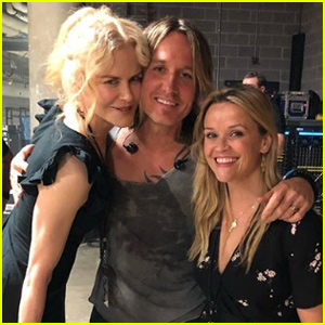Nicole Kidman & Reese Witherspoon Reunite at Keith Urban Concert!