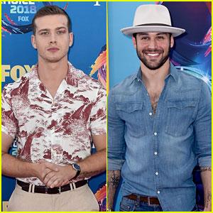 '9-1-1' Hotties Oliver Stark & Ryan Guzman Step Out for Teen Choice Awards 2018