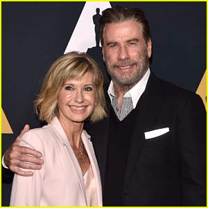 Olivia Newton John & John Travolta Reunite for 'Grease' 40th Anniversary Event!