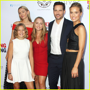 Peter Facinelli Gets Support from Girlfriend Lily Anne Harrison & Daughters at 'Breaking & Exiting' Premiere!