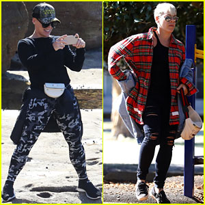 Pink Spends Time With Her Family in Sydney as She Focuses on Recovery