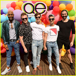 'Queer Eye' Cast Celebrates Four Emmy Nominations With GLSEN