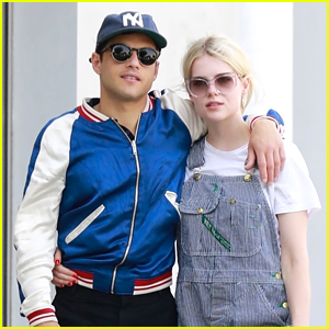 Rami Malek Cozies Up To Girlfriend Lucy Boynton On Afternoon Stroll