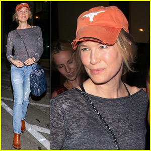 Renee Zellweger Dines Out at Catch After Her Exciting Casting News
