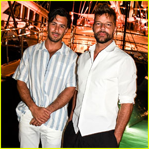 Ricky Martin & Husband Jwan Yosef Party on a Yacht in Italy