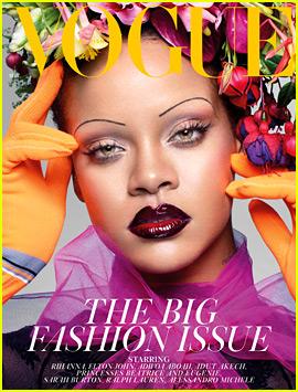 Rihanna Covers 'British Vogue,' Talks 'Boy Advice' & Her Figure