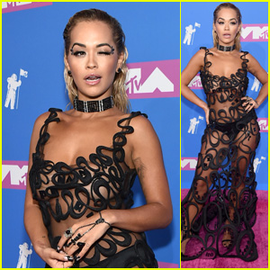 Rita Ora Rocks a Risque Look on the Red Carpet at MTV VMAs 2018!