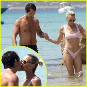Robin Wright & New Husband Clement Giraudet Pack on the PDA During Honeymoon!