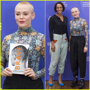 Rose McGowan Brings 'Brave' To Edinburgh International Book Festival