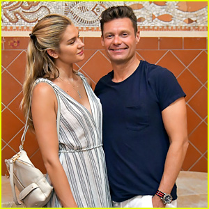 Ryan Seacrest & Girlfriend Shayna Taylor Pose for Cute Pics on Vacation!