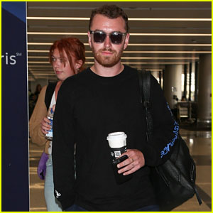 Sam Smith Heads Out of LA to His Next Tour Stop!