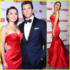 Samantha Barks & Andy Karl Celebrate Opening Night of 'Pretty Woman' on Broadway!