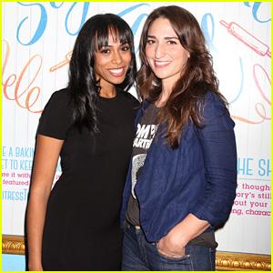 Sara Bareilles & Upcoming 'Waitress' Star Nicolette Robinson Host Karaoke on Broadway!