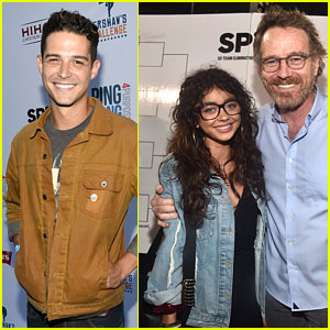Sarah Hyland & Boyfriend Wells Adams Couple Up at Clayton Kershaw's Ping Pong 4 Purpose Event!