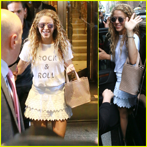 Shakira is Ready to Rock Madison Square Garden in NYC!