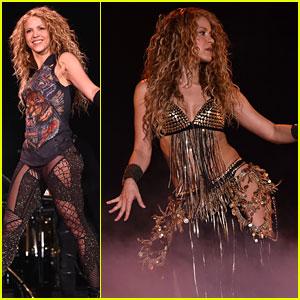 Shakira's Hips Don't Lie on 'El Dorado World Tour'