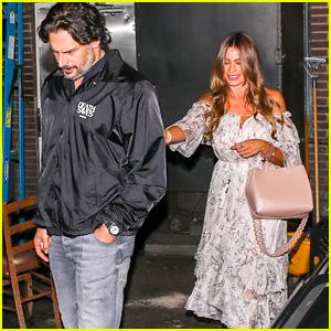 Sofia Vergara & Joe Manganiello Head Out After Dinner in Beverly Hills