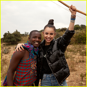 Sofia Carson Visits Kenya on a 'Me to We' Volunteer Trip!