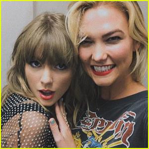 Taylor Swift & Karlie Kloss Reunite at Nashville 'reputation Tour'