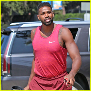 Tristan Thompson Steps Out for an Off-Season Workout at UCLA!